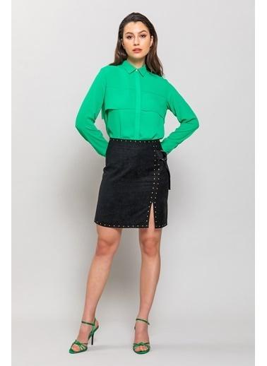 Ashleys Gömlek Yeşil